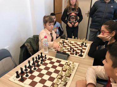 Първенство по шахмат с участие на наши ученици